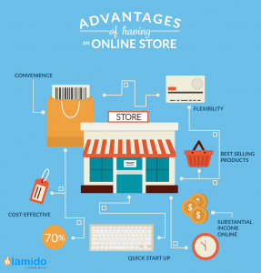 The Advantages of Online Stores for Store Owners